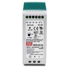Fuente de alimentación Trendnet DIN-rail industrial de salida única de 60W (Version v1.0R) P/N TI-M6024
