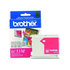 CARTRIDGE Brother Magenta original cartucho de tinta  para Brother DCP-130, 330, 350, MFC-230, 240, 3360, 440, 465, 5460, 5860, 665, 685, 845, 885 P/N LC51M