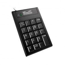 TECLADO NUMERICO Klip Xtreme  Abacus  USB - negro P/N KNP-100