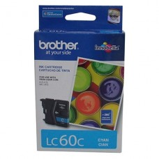 CARTRIDGE Brother Cián original cartucho de tinta para Brother DCP-J125, MFC-J410, MFC-J410W P/N LC60C