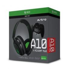 AUDIFONOS  LOGITECH ASTRO A10  tamaño completo cableado conector de 3,5 mm  para Xbox One, Xbox One S, Xbox One X P/N 939-001595