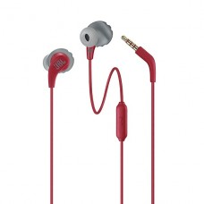 AUDIFONO CON MICROFONO JBL Endurance Wired Run In-ear Red P/N JBLENDURRUNREDAM