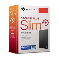 Disco Duro Externo Seagate Backup Plus Slim, 2TB USB 3.0 P/N STHN2000400