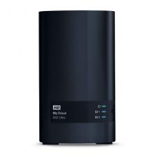 NAS WD My Cloud EX2 Ultra 20TB ( 10TB x 2 INCLUIDOS ) GIGAbit Ethernet - iSCSI P/N WDBVBZ0200JCH-NESN