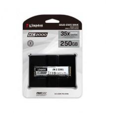 DISCO KINGSTON DE ESTADO SOLIDO SSD  250GB  KC2000 M.2 2280 NVME  P/N SKC2000M8250G