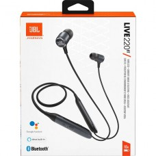 AUDIFONOS JBL LIVE  220BT Earphones Wireless Black P/N JBLLIVE220BTBLKAM