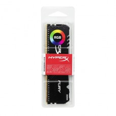MEMORIA DDR4 HyperX FURY RGB 16 GB 2666 MHz / PC4-21300 CL16 1.2 V negro P/N HX426C16FB3A16