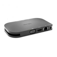 DOCKING  KENSINGTON  universal móvil USB-C SD1600P con carga de paso  4K HDMI o HD VGA P/N K33968WW