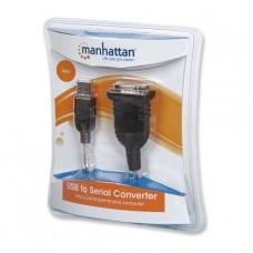 ADAPTADOR USB SERIAL MANHATTAN P/N 205146