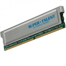 MEMORIA UDIMM DDR SUPERTALENT 512MB 400 PC3200 BOX