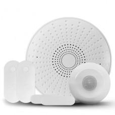 Starter Kit Alarma Nexxt Sirena/Hub, 1 Sensor de Movimiento + 2 Sensores Apertura P/N NHS-K720