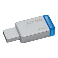 PENDRIVE Kingston 64GB USB 3.0 Datatraveler DT50 BLUE P/N DT5064GBCE