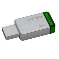 pendrive Kingston 16GB Green datatraveler 50 usb 3.0 p/n DT5016GBCE