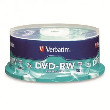 PACK 30 UNIDADES DVD VERBATIM 4.7 -R REGRABABLE