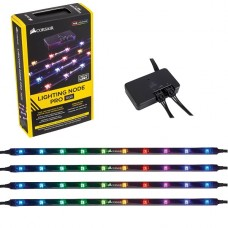 CORSAIR Lighting Node PRO - Iluminación de caja de sistema (LED) RGB 4 TIRAS, 41 CM P/N CL-9011109-WW