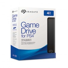 DISCO EXTERNO Seagate 4TB Game Drive for PS4 USB 3.0 negro para Sony PlayStation 4, Sony PlayStation 4 Pro, Sony PlayStation 4 Slim P/N STGD4000400