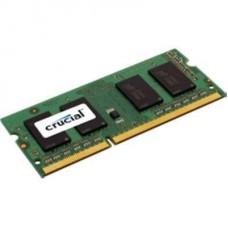 MEMORIA SODIMM DDR3 2GB 1600 PC12800 CRUCIAL P/N CT25664BF160B