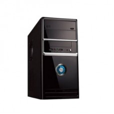 GABINETE 6802 BS NEGRO - PLATA USB AUDIO FRONTAL 650W
