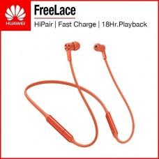 AUDIFONOS Huawei  EARPHONES Bluetooth FreeLace Orange  P/N CM7055030950