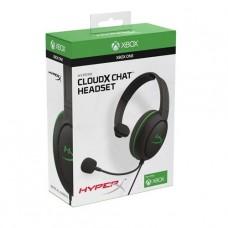 AUDIFONO GAMER HyperX CloudX Chat CABLEADO SEMIABIERTO MONO P/N HX-HSCCHX-BKWW