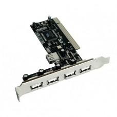 TARJETA PCI USB 2.0 4 PUERTOS
