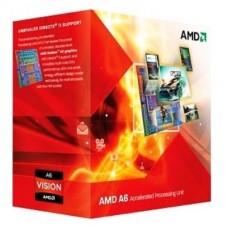 PROCESADOR AMD A6 X3 3500 2.1GHZ GPU ATI HD6530D TRI CORE sFM1