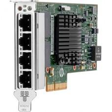 adaptador de red  HPE 366T   PCIe  2.1 x4 perfil bajo Gigabit Ethernet x 4 para ProLiant DL325 Gen10, DL360 Gen10, DL380 Gen10, DL388 Gen10, DX560 Gen10, ML350 Gen10 P/N 811546-B21