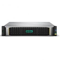 storage HPE1050  Modular Smart Array 1050 Dual Controller SFF  Orden unidad de disco duro  0TB 24 compartimentos (SAS-2) - iSCSI (10 GbE) (externo) montaje en bastidor 2U p/n Q2R25A