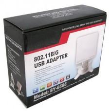 ADAPTADOR USB WIRELESS ALTO ALCANCE 16DBI HIGH POWER 1.8W EDUP P/N 6505