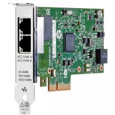 ADAPTADOR DE RED HPE 361T  PCIe 2.0 x4 perfil bajo Gigabit Ethernet x 2 para ProLiant DL180 Gen10, DL325 Gen10, DL360 Gen10, DL380 Gen10, DL388 Gen10, ML350 Gen10 P/N 652497-B21