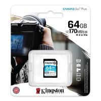 MEMORIA SD Kingston 64 GB XC V30 Class 10 P/N SDG3/64GB