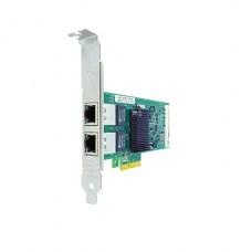 Adaptador de red Dell PCIe perfil bajo  Gigabit Ethernet x 2  para PowerEdge C6320, FC430, FC830, VRTX; PowerEdge C6420, R230, R330, R430, R540, R640, R740 P/N 540-BBGR