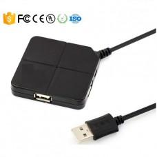 HUB USB 2.0 4 PUERTOS CON CABLE HASTA 1 METRO