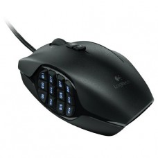 MOUSE GAMER LOGITECH USB G600 GAMING 20 BOTONES 8200 DPI