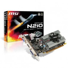 TARJETA DE VIDEO GEFORCE MSI G210 1GB DDR3 PCIeX P/N N210-MD1G/D3