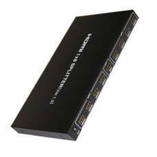 VIDEO SPLITTER HDMI DE 8 PUERTOS 3D V1.4 AMPLIFICADO
