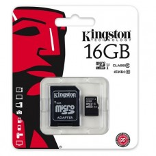 MEMORIA MICROSD 16GB KINGSTON P/N SDC10G2/16GB