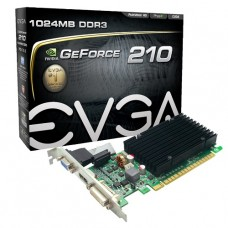 TARJETA DE VIDEO GEFORCE EVGA G210 1GB DDR3 PCIeX P/N 01G-P3-1313-KR