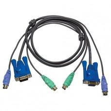 CABLE PARA KVM PS2 1.8M 2L-5002P/C