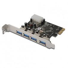 TARJETA PCIeX USB 3.0 4 PUERTOS