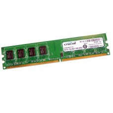 MEMORIA UDIMM DDR2 CRUCIAL 2GB 667 PC5300 BOX P/N CT25664AA667
