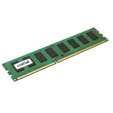 MEMORIA UDIMM DDR3 CRUCIAL 8GB 1600 PC 12800 BOX P/N CT102464BD160B