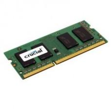 MEMORIA SODIMM DDR3 8GB 1600 PC12800 CRUCIAL 1.35V P/N CT102464BF160B