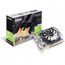 TARJETA DE VIDEO GEFORCE MSI GT730 2GB DDR3 128 BIT PCIeX  P/N  N730 2GD3V3