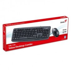 KIT TECLADO Y MOUSE GENIUS USB KM-130