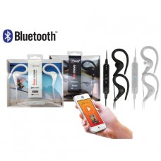 AUDIFONO MICROLAB  BLUETOOTH SPORT EAR-CLIP WHITE