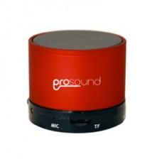 PARLANTE PORTATIL BLUETOOTH USB MICROSD RADIO FM 3W P295 ROJO