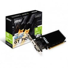 TARJETA DE VIDEO GEFORCE MSI GT710 1GB DDR3 PCIeX P/N GT 710 1GD3H LP