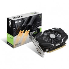 TARJETA DE VIDEO GEFORCE MSI GTX1050 TI 4G OC DDR5 PCIeX 3.0