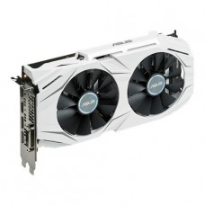 TARJETA DE VIDEO GEFORCE ASUS GTX1060 DUAL FAN OC EDITION DDR5 PCIeX 3.0 P/N DUAL-GTX1060-O6G